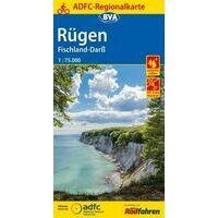 BVA ADFC Fietskaart Rügen - Fischland-Darss