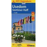 BVA ADFC Fietskaart Usedom - Stettiner Haff