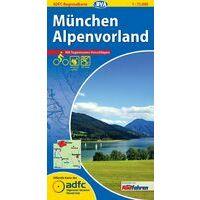 BVA-ADFC Fietskaart München Alpenvorland