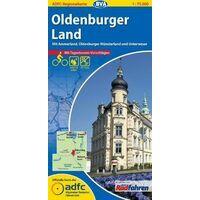 BVA-ADFC Fietskaart Oldenburger Land