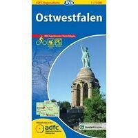 BVA-ADFC Fietskaart Ostwestfalen