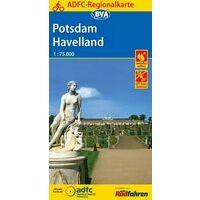 BVA-ADFC Fietskaart Potsdam - Havelland
