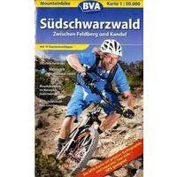 BVA-ADFC MTB-kaart Zwartewoud-Zuid Feldberg