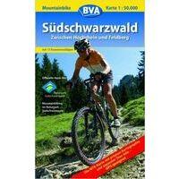 BVA-ADFC MTB-kaart Zwartewoud-Zuid Hochrhein