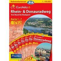 BVA-ADFC Eurovelo 6 Rhein- Und Donauradweg