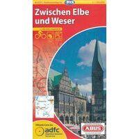 BVA-ADFC Fietskaart 06 Zwischen Elbe Und Weser