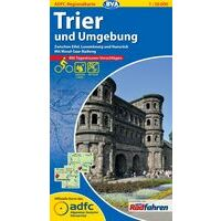 BVA-ADFC Fietskaart Trier Und Umgebung