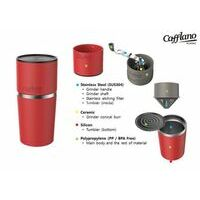 Cafflano Cafflano Cassic Zwart Koffiemaker