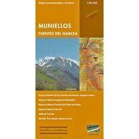 Calecha Wandelkaart Muniellos, Fuentos Del Narcea 1:50.000