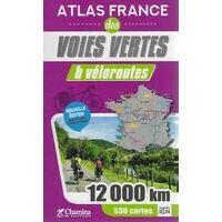 Chamina Guides Fietsatlas France Voies Vertes & Veloroutes