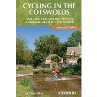 Cicerone Fietsgids Cycling In The Cotswolds