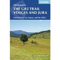 Cicerone Wandelgids GR5 Trail Vosges & Jura