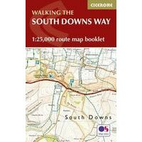 Cicerone Kaartgids Walking The South Downs Way Booklet