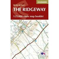 Cicerone Kaartgids Walking The Ridgeway Booklet