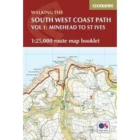Cicerone South West Coast Path Booklet Volume 1