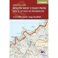 Cicerone South West Coast Path Booklet Volume 2