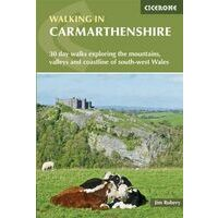 Cicerone Wandelgids Walking In Carmarthenshire (Wales)