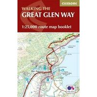 Cicerone Walking The Great Glenway Routekaart 1:25.000