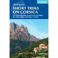 Cicerone Wandelgids Short Treks On Corsica
