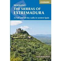 Cicerone Wandelgids Sierras Of The Extremadura