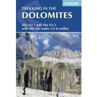Cicerone Wandelgids Trekking In The Dolomites
