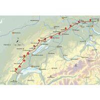 Cicerone Wandelgids Trekking Switzerland's Jura Crest Trail