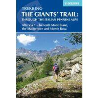 Cicerone Wandelgids Trekking The Giants Trail - Alta Via 1