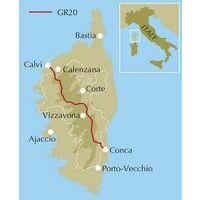 Cicerone Wandelgids Trekking The GR20 Corsica