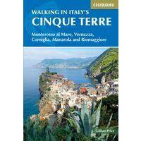 Cicerone Wandelgids Walking In Cinque Terre