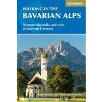 Cicerone Wandelgids Walking In The Bavarian Alps
