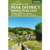 Cicerone Wandelgids Walking In The Peak District - White Peak East