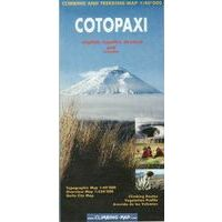 Climbing-map Cotopaxi