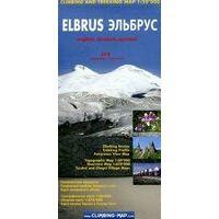 Climbing-map Trekkingkaart Elbrus