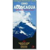 Climbing-map Cerro Aconcagua