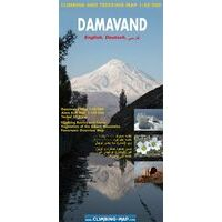 Climbingmap.com Klimkaart - Wandelkaart Damavand