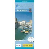 CNIG Maps Spain Wegenkaart 13 Provincie Cantabrië