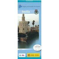 CNIG Maps Spain Wegenkaart 40 Provincie Sevilla
