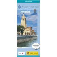 CNIG Maps Spain Wegenkaart 5 Provincie Asturias