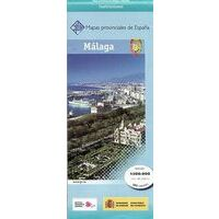 CNIG Maps Spain Wegenkaart 31 Provincie Malaga