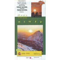 CNIG Maps Spain Wandelkaart 10 PN Sierra Nevada Oost & West