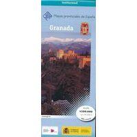 CNIG Maps Spain Wegenkaart 19 Provincie Granada