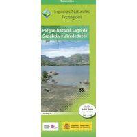 CNIG Maps Spain Wandelkaart Parque Naturel Lago De Sanabria