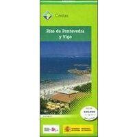 CNIG Maps Spain Topografische Wandelkaart Rías De Pontevedra Y Vigo