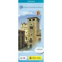 CNIG Maps Spain Wegenkaart 11 Provincie Caceres