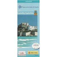 CNIG Maps Spain Wegenkaart 14 Provincie Castellon