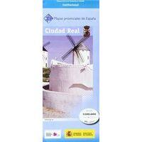 CNIG Maps Spain Wegenkaart 15 Provincie Ciudad Real