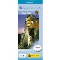 CNIG Maps Spain Wegenkaart 17 Provincie Cuenca