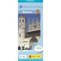 CNIG Maps Spain Wegenkaart 22 Provincie Huesca