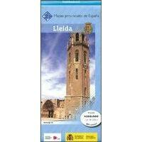 CNIG Maps Spain Wegenkaart 28 Provincie Lleida