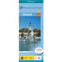 CNIG Maps Spain Wegenkaart 30 Provincie Madrid